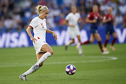 June 27, 2019 - Le Havre, France - Steph Houghton (Manchester City WFC) of England during the 2019 FIFA Women's World Cup France Quarter Final match between Norway and England at  on June 27, 2019 in Le Havre, France. (Credit Image: © Jose Breton/NurPhoto via ZUMA Press)
