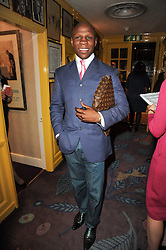 CHRIS EUBANK at a party to celebrate the publication of Blow by Blow - The Story of Isabella Blow by Detmar Blow and Tom Sykes held at Annabel's, Berkeley Square, London on 21st September 2010.