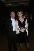 Lord  and Lady Andrew Lloyd Webber. Turner Whistler Monet, exhibtion opening dinner, Tate Britain. 7 February 2005, ONE TIME USE ONLY - DO NOT ARCHIVE  © Copyright Photograph by Dafydd Jones 66 Stockwell Park Rd. London SW9 0DA Tel 020 7733 0108 www.dafjones.com