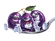 Friendly and fun, Giggly Grapes entertain and tickle the tongue, with flavorful Jiggly Jello!