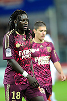 FOOTBALL - FRENCH CHAMPIONSHIP 2010/2011 - L1 - STADE BRESTOIS v OLYMPIQUE LYONNAIS - 16/05/2011 - PHOTO PASCAL ALLEE / DPPI - DESAPPOINTMENT BAFETIMBI GOMIS AND JEREMY PIED(OL) AT THE END OF MATCH