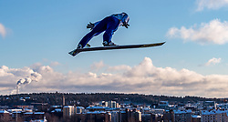 24.02.2017, Lahti, FIN, FIS Weltmeisterschaften Ski Nordisch, Lahti 2017, Nordische Kombination, Skisprung, im Bild Tomas Portyk (CZE) // Tomas Portyk of Czech Republic during Skijumping of Nordic Combined competition of FIS Nordic Ski World Championships 2017. Lahti, Finland on 2017/02/24. EXPA Pictures © 2017, PhotoCredit: EXPA/ JFK