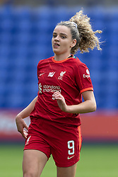 BIRKENHEAD, ENGLAND - Sunday, August 29, 2021: Liverpool's Leanne Kiernan during the FA Women's Championship game between Liverpool FC Women and London City Lionesses FC at Prenton Park. London City won 1-0. (Pic by Paul Currie/Propaganda)