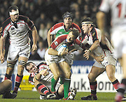 Reading, GREAT BRITAIN, Nick KENNEDY supporting Mike CATT with the ball, during the third round Heineken Cup game, London Irish vs Ulster Rugby, at the Madejski Stadium, Reading ENGLAND, Sat 09.12.2006. [Photo Peter Spurrier/Intersport Images]