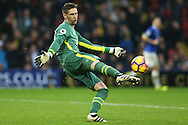 Goalkeeper Maarten Stekelenburg of Everton in action. Premier league match, Watford v Everton at Vicarage Road in Watford, London on Saturday 10th December 2016.<br /> pic by John Patrick Fletcher, Andrew Orchard sports photography.