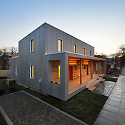 EMPOWERHOUSE<br /> Solar Decathlon Team, Habitat for Humanity and D.C. Goverment Celebrate Completion of Innovative Model for Affordable, Green Housing_Team Led by The New School and Stevens Institute of Technology Took Competition Beyond the Mall to Create District's First Passive House