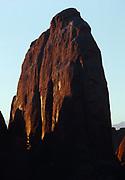 Entrada Sandstone fin, Devils Garden, Arches National Park, Utah.