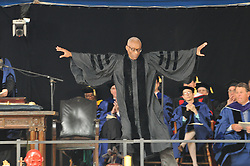 Bill T. Jones receives Honorary Doctorate in Fine Arts from Yale University   Commencement 2009. Credit Photography: James R Anderson