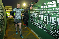 December 8, 2018 - Galway, Ireland - Matt Healy of Connacht thanks his fans during the European Rugby Challenge Cup match between Connacht Rugby and Perpignan at the Sportsground in Galway, Ireland on December 8, 2018  (Credit Image: © Andrew Surma/NurPhoto via ZUMA Press)
