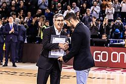 November 1, 2018 - Barcelona, Barcelona, Spain - Juan Carlos Navarro in actions during EuroLeague match between FC Barcelona Lassa and Maccabi Fox Tel Aviv  on November 01, 2018 at Palau Blaugrana, in Barcelona, Spain. (Credit Image: © AFP7 via ZUMA Wire)