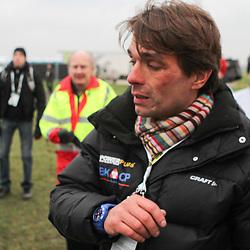 Manager Christophe Roodhoofdt eimotionele reactie na de titel van Niels Albert