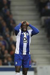 November 10, 2018 - Porto, Porto, Portugal - Porto's Malian forward Moussa Marega reacts after missing a goal during the Premier League 2018/19 match between FC Porto and SC Braga, at Dragao Stadium in Porto on November 9, 2018. (Credit Image: © Dpi/NurPhoto via ZUMA Press)