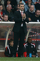Photo: Steve Bond/Richard Lane Photography. <br />Nottingham Forest v Walsall. Coca Cola League One. 15/03/2008. Forest manager Colin Calderwood encourages from the touchline
