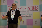 31/01/2018  Roberto Frabetti Project Manager of Small size,  at the launch of Wide Eyes, a unique one-off European arts extravaganza for babies and children aged 0 – 6. Hosted by Baboró, Wide Eyes will take place in Galway till Sun 4 February. This imaginative programme will feature 15 new theatre and dance shows from some of Europe's finest creators of Early Years work from Austria, Belgium, Denmark, Finland, France, Germany, Hungary, Italy, Poland, Romania, Slovenia, Spain, Sweden, UK and Ireland. For more see www.wideeyesgalway.ie<br /> <br /> Wide Eyes will welcome almost 200 artists and arts professionals from almost 20 countries to enthral and engage children over four jam-packed days. Photo:Andrew Downes, XPOSURE