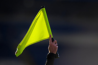 Football - 2020 / 2021 Premier League - Leicester City vs Liverpool - King Power Stadium<br /> <br /> A detail of the assistant referee's flag.<br /> <br /> COLORSPORT/ASHLEY WESTERN