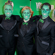 NLD/Scheveningen/20111106 - Premiere musical Wicked, LA the Voices met groene gezichten