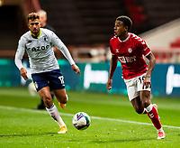 Football - 2020 / 2021 EFL Carabao Cup - Round Three - Bristol City vs  Aston Villa<br />  <br /> Niclas Eliasson of Bristol City in action during todays match, at Ashton Gate.<br />  <br /> COLORSPORT/SIMON KING