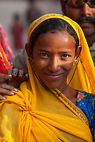 """Portrait of a tribal girl. Pushkar, India<br /> Available as Fine Art Print in the following sizes:<br /> 08""""x12""""US$   100.00<br /> 10""""x15""""US$ 150.00<br /> 12""""x18""""US$ 200.00<br /> 16""""x24""""US$ 300.00<br /> 20""""x30""""US$ 500.00"""