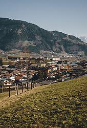 THEMENBILD - Ortsansicht des Tourismusort im Frühling, aufgenommen am 07. April 2020 in Kaprun, Oesterreich // Local view of the tourist resort in spring in Kaprun. Austria on 2020/04/07. EXPA Pictures © 2020, PhotoCredit: EXPA/Stefanie Oberhauser