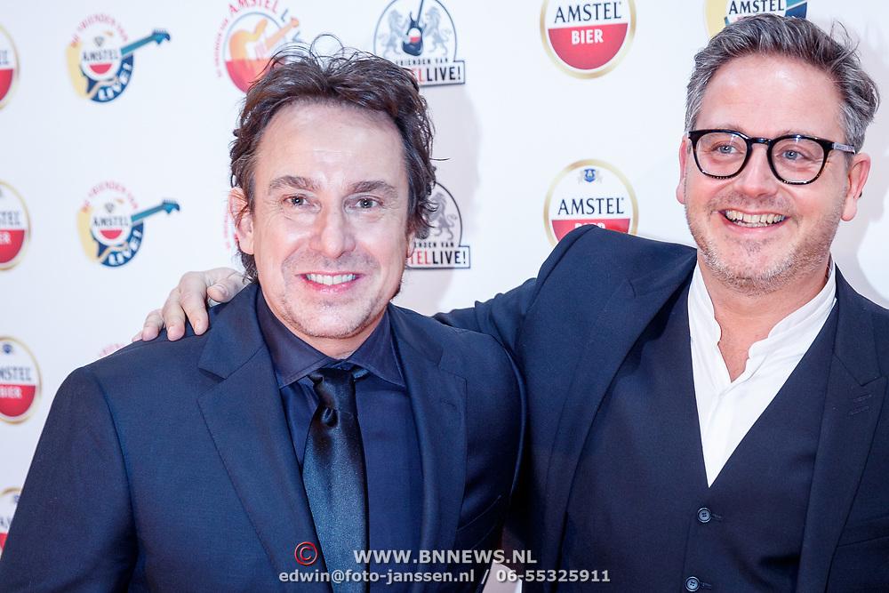 NLD/Den Haag/20180118 - Inloop Vrienden van Amstel live 2018, Msrco Borsato en Guus Meeuwis