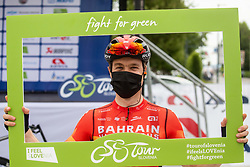 Jan TRATNIK of BAHRAIN VICTORIOUS during 2nd Stage of 27th Tour of Slovenia 2021 cycling race between Zalec and Celje (147 km), on June 10, 2021 in Slovenia. Photo by Vid Ponikvar / Sportida