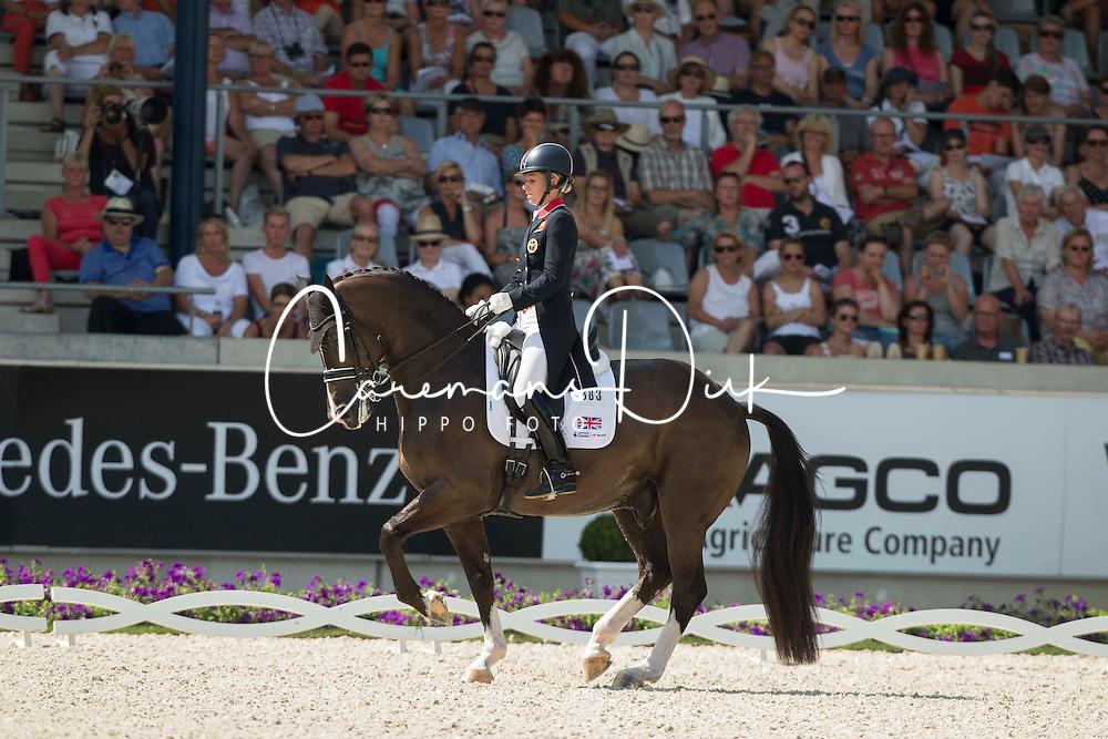 Dujardin Charlotte (GBR) - Valegro<br /> Preis der Familie Tesch <br /> Lambertz Nations Cup<br /> Weltfest des Pferdesports CHIO Aachen 2014<br /> © Hippo Foto - Dirk Caremans