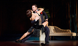 Dance 'Til Dawn <br /> Vincent Simone & Flavia Cacace <br /> at the Aldwych Theatre, London, Great Britain <br /> press photocall<br /> 29th October 2014 <br /> <br /> <br /> Vincent Simone & Flavia Cacace <br /> <br /> <br /> <br /> <br /> <br /> Photograph by Elliott Franks <br /> Image licensed to Elliott Franks Photography Services