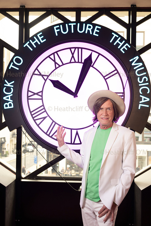 May0101531 . Daily Telegraph<br /> <br /> Arts<br /> <br /> US film composer Glen Ballard at the Adelphi theatre where Back To The Future: The Musical is currently running .<br /> <br /> London 1 September 2021