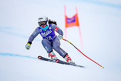 17.01.2018, Olympia delle Tofane, Cortina d Ampezzo, ITA, FIS Weltcup Ski Alpin, Abfahrt, Damen, 1. Training, im Bild Tiffany Gauthier (FRA) // Tiffany Gauthier of France in action during the 1st practice run of ladie' s downhill of the Cortina FIS Ski Alpine World Cup at the Olympia delle Tofane course in Cortina d Ampezzo, Italy on 2015/01/17. EXPA Pictures © 2018, PhotoCredit: EXPA/ Dominik Angerer