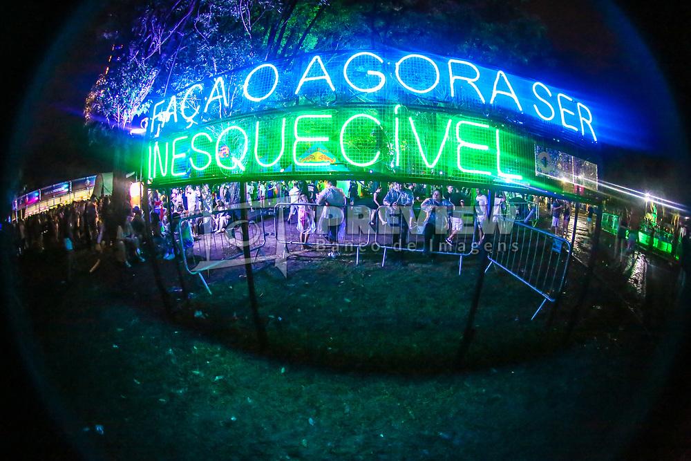 Planetários durante a 24ª edição do Planeta Atlântida. O maior festival de música do Sul do Brasil ocorre nos dias 01 e 02 de fevereiro, na SABA, na praia de Atlântida, no Litoral Norte gaúcho. Foto: Gustavo Roth / Agência Preview