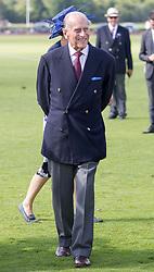 The Duke of Edinburgh during the Bentley Motors Royal Windsor Cup Final at Guards Polo Club, Windsor Great Park, Egham, Berkshire.