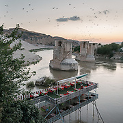 In and around Hasankeyf, an ancient town and district located along the Tigris River in the Batman Province in southeastern Turkey. It was declared a natural conservation area by Turkey in 1981.<br /> Despite local and international objections, the city and its archeological sites are soon to be flooded due to the completion of the Ilisu Dam.