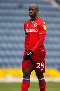 Reading forward Sone Aluko (24) during the EFL Sky Bet Championship match between Preston North End and Reading at Deepdale, Preston, England on 24 January 2021.
