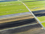 Nederland, Zuid-Holland, Gemeente Kaag en Braassem, 20-02-2012; .Griet- en Vriesekoopsche Polder.Land divison in west-Netherlands..luchtfoto (toeslag), aerial photo (additional fee required);.copyright foto/photo Siebe Swart.
