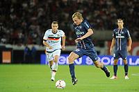 FOOTBALL - FRENCH CHAMPIONSHIP 2012/2013 - L1 - PARIS SG v FC LORIENT - 11/08/2012 - PHOTO JEAN MARIE HERVIO / REGAMEDIA / DPPI - CLEMENT CHANTOME (PSG)