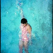 Elaine Tanner - Swimmer