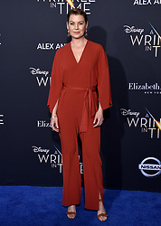 Ellen Pompeo attends the premiere of Disney's 'A Wrinkle In Time' at the El Capitan Theatre on February 26, 2018 in Los Angeles, California. Photo by Lionel Hahn/AbacaPress.com