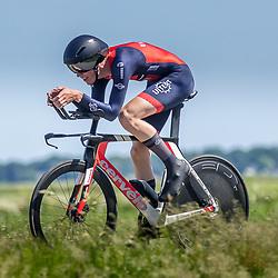 EMMEN (NED) June 16: <br />CYCLING <br />Dutch Nationals Time Trail men U23 Robin van Oorschot