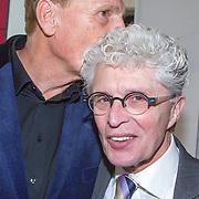 NLD/Amsterdam/20151123 - 5 jaar Delamar theater en 10 Jaar Van den Ende Foundation viering, Henny Huisman en Jacques d' Ancona