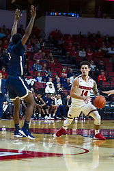 NORMAL, IL - November 29:  Hank Beard during a college basketball game between the ISU Redbirds and the Prairie Stars of University of Illinois Springfield (UIS) on November 29 2019 at Redbird Arena in Normal, IL. (Photo by Alan Look)