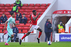 Sammy Ameobi of Nottingham Forest  surges towards the visitors' penalty area - Mandatory by-line: Nick Browning/JMP - 29/11/2020 - FOOTBALL - The City Ground - Nottingham, England - Nottingham Forest v Swansea City - Sky Bet Championship