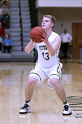 07 January 2017:  Brady Rose during an NCAA men's division 3 CCIW basketball game between the Wheaton Thunder and the Illinois Wesleyan Titans in Shirk Center, Bloomington IL