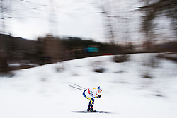 January 6, 2018 - Val Di Fiemme, ITALY - 180106 Jens Burman of Sweden competes in men's 15km mass start classic technique during Tour de Ski on January 6, 2018 in Val di Fiemme..Photo: Jon Olav Nesvold / BILDBYRN / kod JE / 160123 (Credit Image: © Jon Olav Nesvold/Bildbyran via ZUMA Wire)