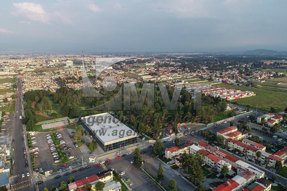 Metepec, México.- Aspectos del parque La Pila donde podría instalarse la base del puesto de mando de la Guardia Nacional. Agencia MVT / Mario Vázquez de la Torre.