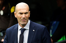 Real Madrid CF's Zinedine Zidane during the Spanish league football match Real Madrid CF against Levante UD at the Santiago Bernabeu stadium in Madrid on September 14, 2019. Photo by Manu R.B/Alterphotos/ABACAPRESS.COM