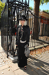 VIRGINIA BATES at the memorial service of Isabella Blow held at the Guards Chapel, London W1 on 18th September 2007.<br /><br />NON EXCLUSIVE - WORLD RIGHTS
