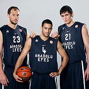 Anadolu Efes Spor Kulubu Yeni Sezon Reklam Foto 28 Eylul 2011. Foto: TURKPIX