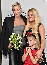 2017 Princess Grace Awards Gala Kick Off Event held at Paramount Studios. 24 Oct 2017 Pictured: Her Serene Highness Princess Charlene of Monaco, Jessica Simpson. Photo credit: O'Connor/AFF-USA.com / MEGA TheMegaAgency.com +1 888 505 6342