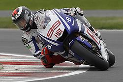 18.06.2010, Circuit, Silverstone, GBR, MotoGP, Airasia British Grand Prix, im Bild Jorge Lorenzo - Fiat Yamaha team. EXPA Pictures © 2010, PhotoCredit: EXPA/ InsideFoto/ Semedia / SPORTIDA PHOTO AGENCY