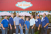 Owner Francisco Rodriguez and his team pose for a photo outside Taqueria Las Vegas in Milpitas, Calif., on Sept. 20, 2012.  Photo by Stan Olszewski/SOSKIphoto.